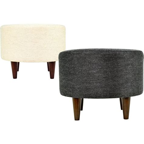 round cocktail ottoman upholstered 1000 ideas about round ottoman on pinterest ottomans
