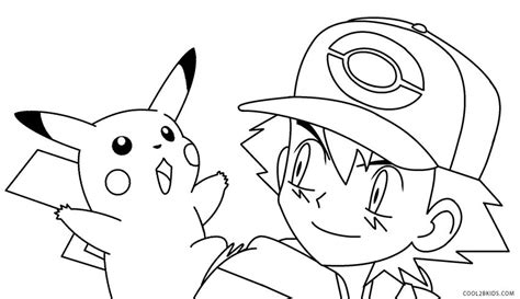 coloring pages of pokemon pikachu printable pikachu coloring pages for kids cool2bkids