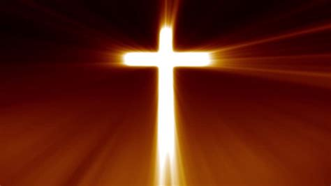 Christian Songs About Light by Jesus Cross Stock Footage