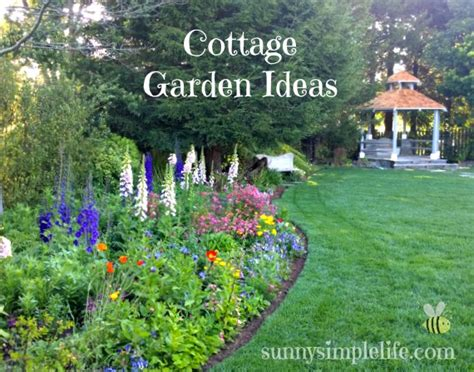 cottage design ideas simple cottage garden ideas