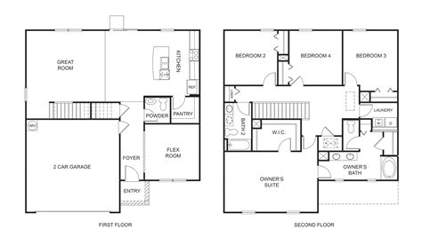 Express Homes Floor Plans by Dr Horton Floorplans
