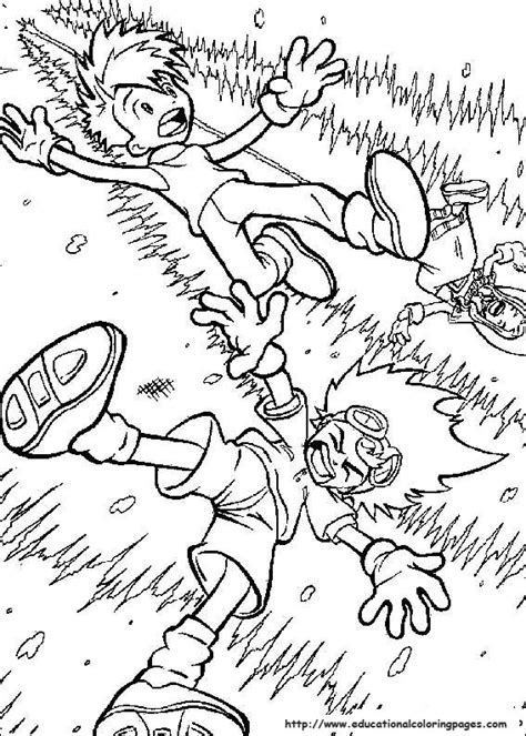 digimon educational fun kids coloring pages