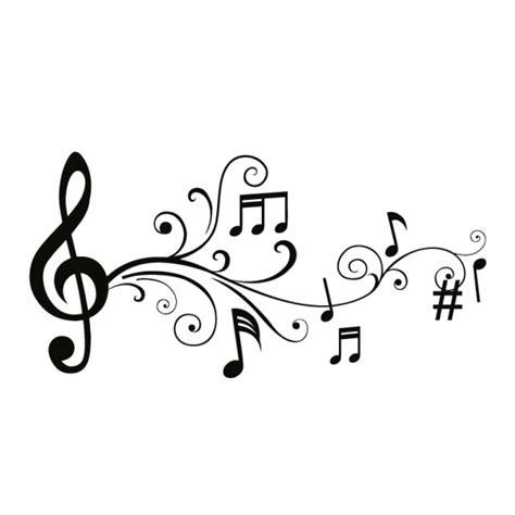 wandtattoo noten 6 wandtattoo musik