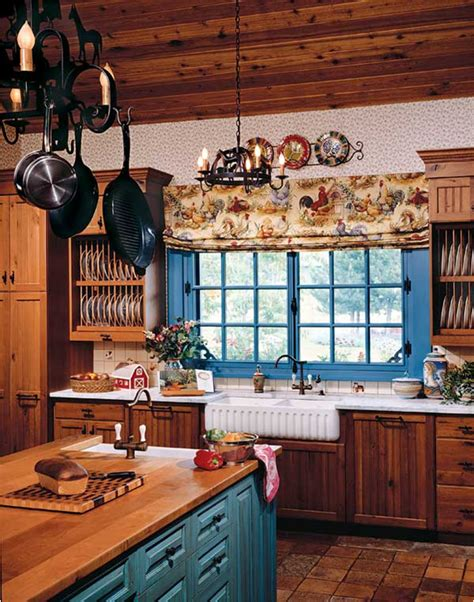 Country Kitchen Design Ideas by 50 Country Kitchen Ideas Home Decorating Ideas