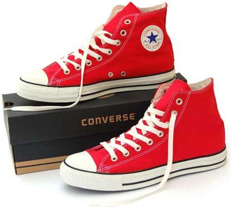 Sepatu Converse All Warna Merah jual sepatu converse kw 1 all tinggi berbagai