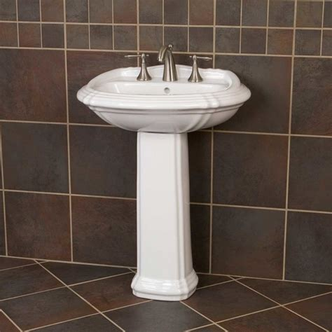 large pedestal sinks bathroom large regent pedestal sink traditional bathroom sinks