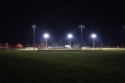 stadium sports lighting retrofit us army s murphy field