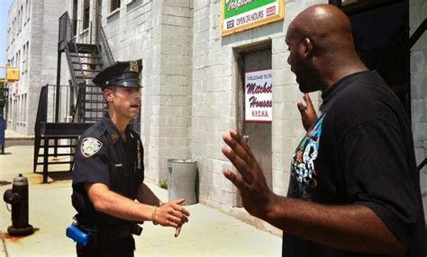 nyc section 8 office police brutality against black men and the black community