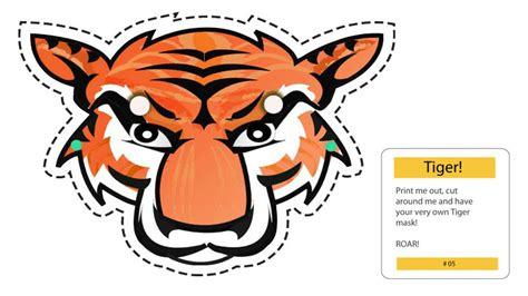 How To Make A Tiger Mask Out Of Paper - how to make a tiger mask out of paper 28 images easy
