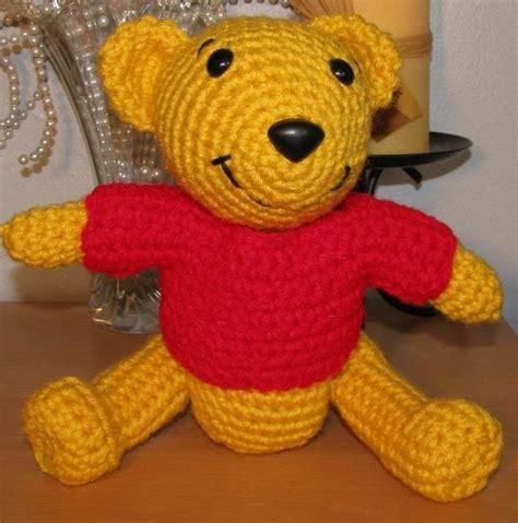 amigurumi pattern winnie the pooh 2000 free amigurumi patterns pooh bear
