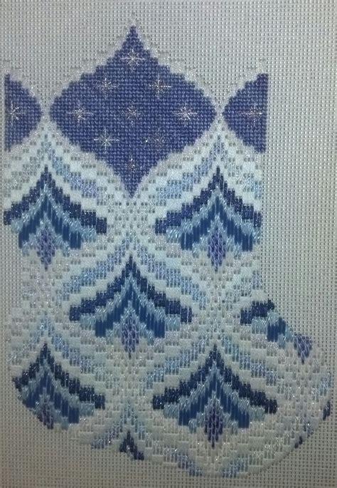 christmas tree grove pattern bargello pine trees melitastitches4fun s blog