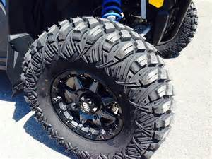 Truck Wheels On Rzr Truck Style Tires Made For Utvs Page 4 Polaris Rzr