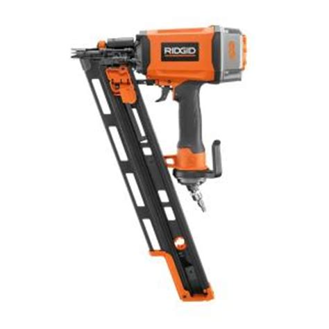 ridgid 3 1 2 in framing nailer r350rhe the