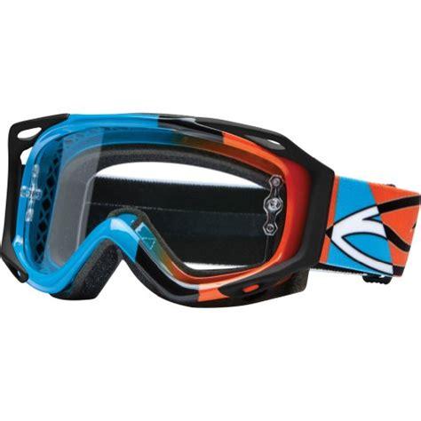 smith optics motocross goggles smith optics fuel v 2 sweat x r motocross goggles cyan