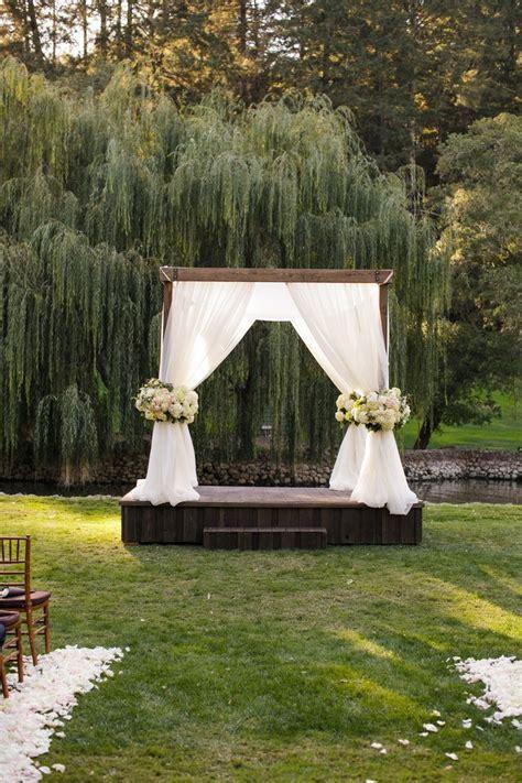 Backyard Wedding Altar Ideas Best 25 Outdoor Wedding Altars Ideas On