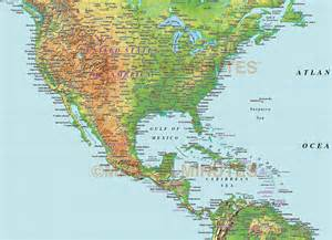 america relief map digital vector america medium relief map in