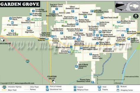 Garden Grove Ca Airports Near by Buy Garden Grove City Map New York