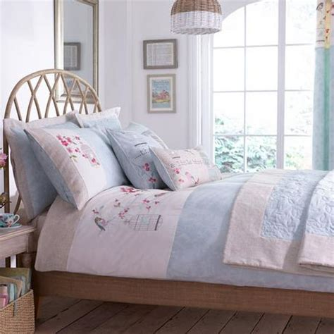 Evelyn Duck Egg Bed Linen Collection Dunelm Dunelm Bed Sets