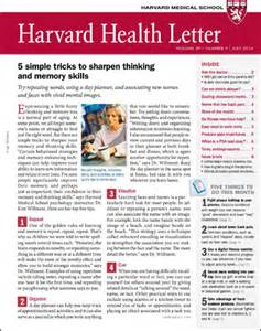 health and fitness cover letter harvard health subscriptions harvard health