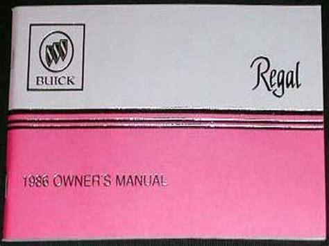 service manual 1986 buick regal user manual service manual where to buy car manuals 1986 service manual 1986 buick regal user manual service manual pdf 1986 buick riviera body
