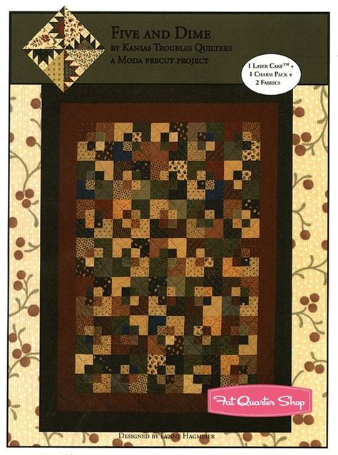 Five And Dime Quilt Pattern by The World S Catalog Of Ideas
