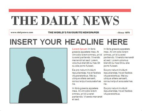 Powerpoint Newspaper Template 21 Free Ppt Pptx Potx Documents Download Free Premium Editable Newspaper Template