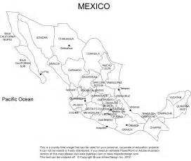 blank us map with mexico geography mexico outline maps