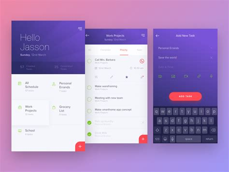 home design app add friends wooke to do list app by kukuh andik dribbble