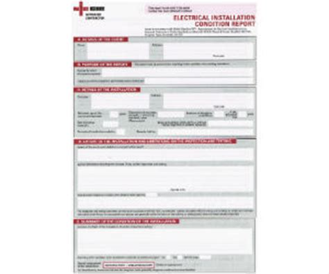 electrical installation certificate template industrial commercial electrical installation condition