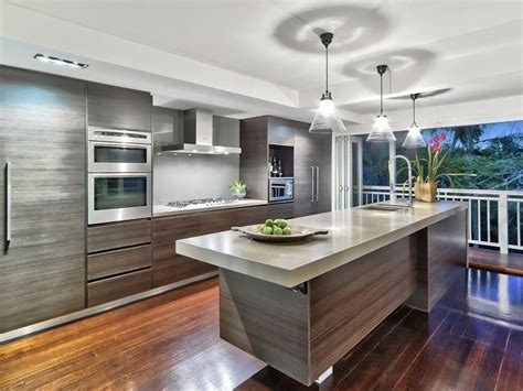 Kitchen Design Australia Floorboards In A Kitchen Design From An Australian Home