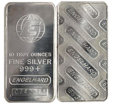 10 Oz Engelhard Silver Bar Price - 10 oz engelhard silver bar
