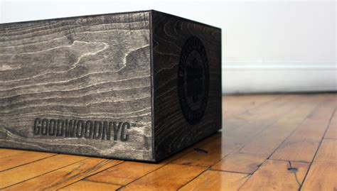 sports boxes customized wooden sneaker boxes from wood nyc sports