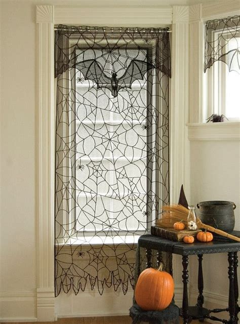 creepy curtains 1000 images about halloween windows on pinterest