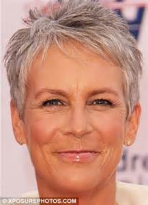 curtis hairstyle front and back view jamie lee curtis haircut 2013 front and back view of