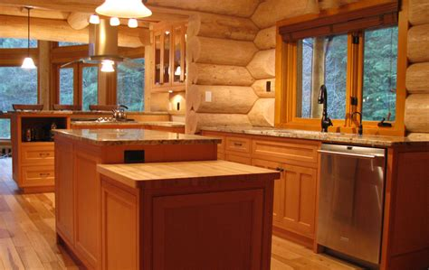 vertical grain douglas fir cabinets log home kitchen features vertical grain douglas fir cabinets