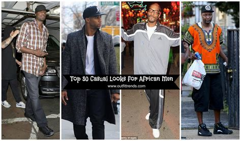 casual outfits ideas  black men african men fashion