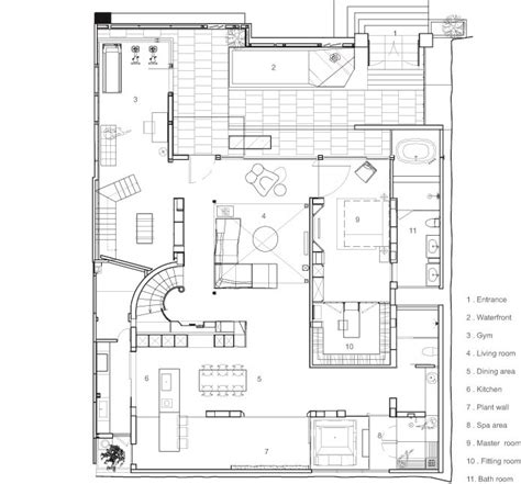 sle plan gallery of le plan libre waterfrom design 37