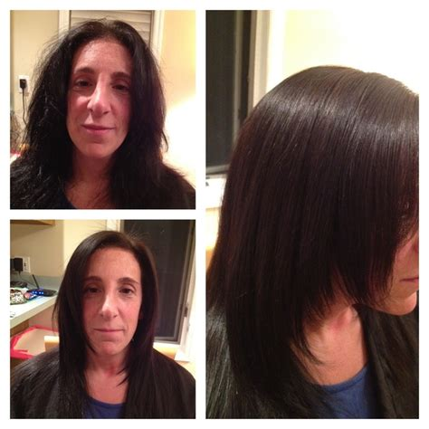 haircut before after keratin 1000 images about keratin treatment before after on