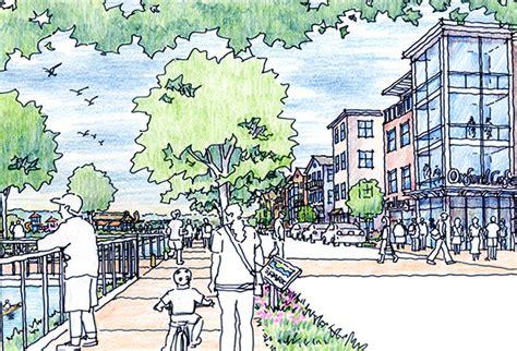 riverfront island master plan