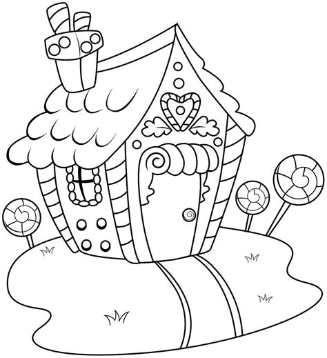 house coloring pages games gingerbread house coloring pages printable coloring