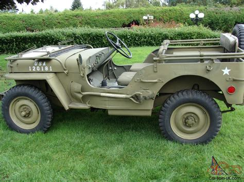 1942 Willys Jeep For Sale Willys 1942 Willys Slat Grill Mb Jeep