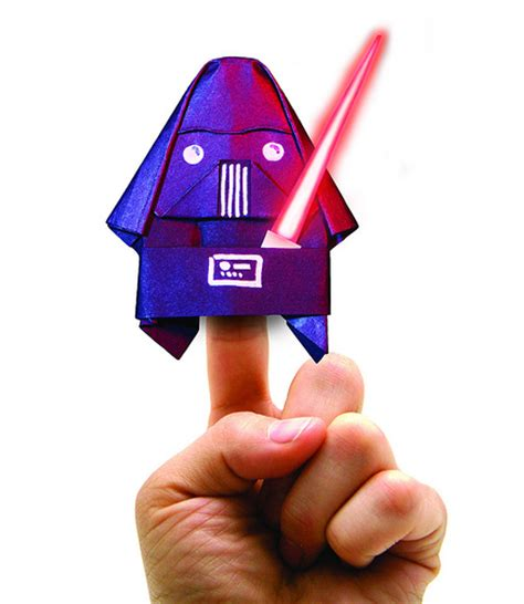 Darth Paper Origami - photo