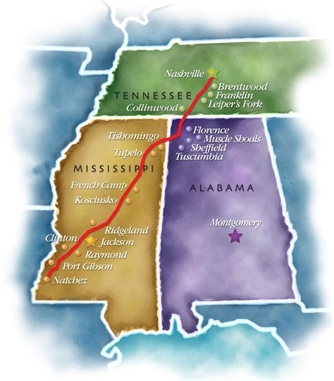 Prarie Style 15 must see stops on the natchez trace parkway