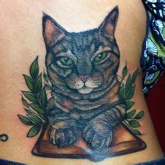 tattoo nightmares meow tattoo old school traditional nautic ink two faces cat
