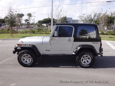 jeep wrangler automatic for sale 1988 jeep wrangler yj 4 2l inline six automatic hardtop