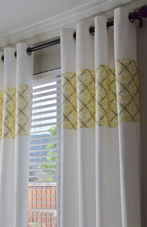 Yellow And White Curtains Gray And Yellow Kitchen Curtains Curtain Menzilperde Net