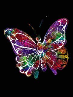 imagenes de mariposas brillantes para facebook gifs anims papillons