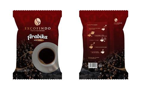 desain kemasan kopi sribu desain kemasan desain kemasan untuk kemasan kopi
