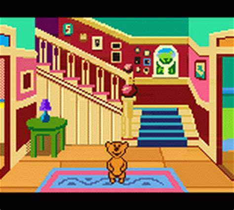 play bear in the big blue house nintendo game boy color online play retro games online at game