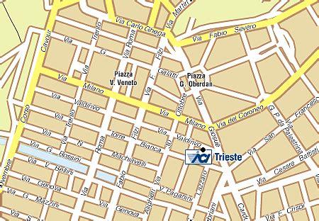 uffici aci trieste unit 224 territoriale aci di trieste dove ci trovi
